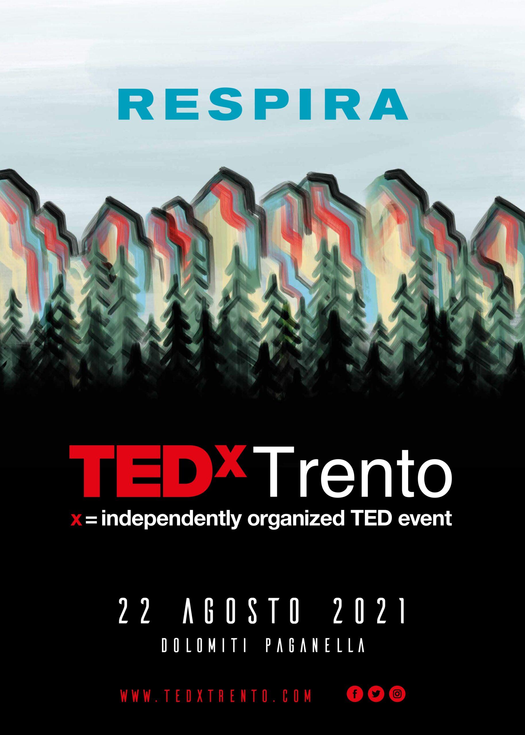TEDxTrento Respira Mountain Future Festival